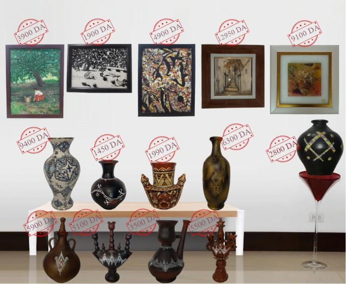 Vente en ligne de produits artisanaux Algériens