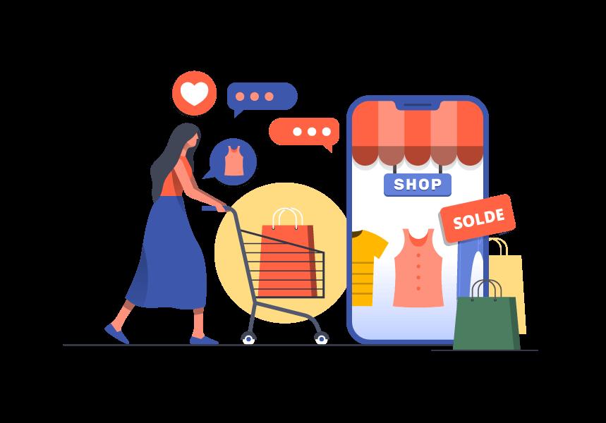 Vendez, achetez des produits sur Kiuper et Communiquez directement entre vous